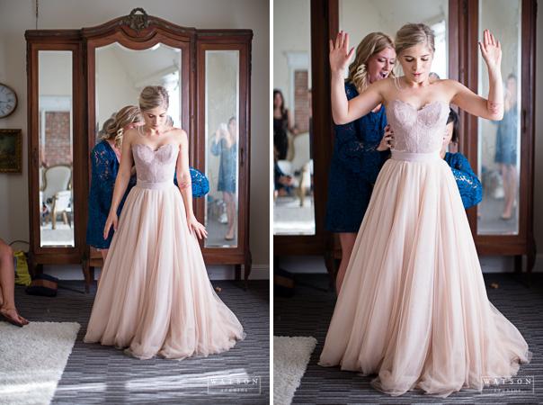 BHLDN wedding dress at The Loft on Pine, Los Angeles, CA