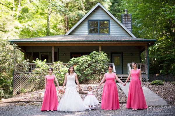 Butterfly Gap Retreat Wedding
