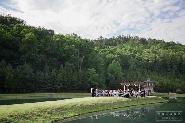 Butterfly Gap Retreat Wedding Ceremony