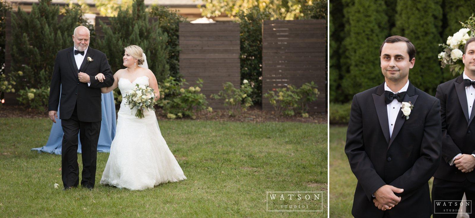 Wedding Ceremony at The Cordelle
