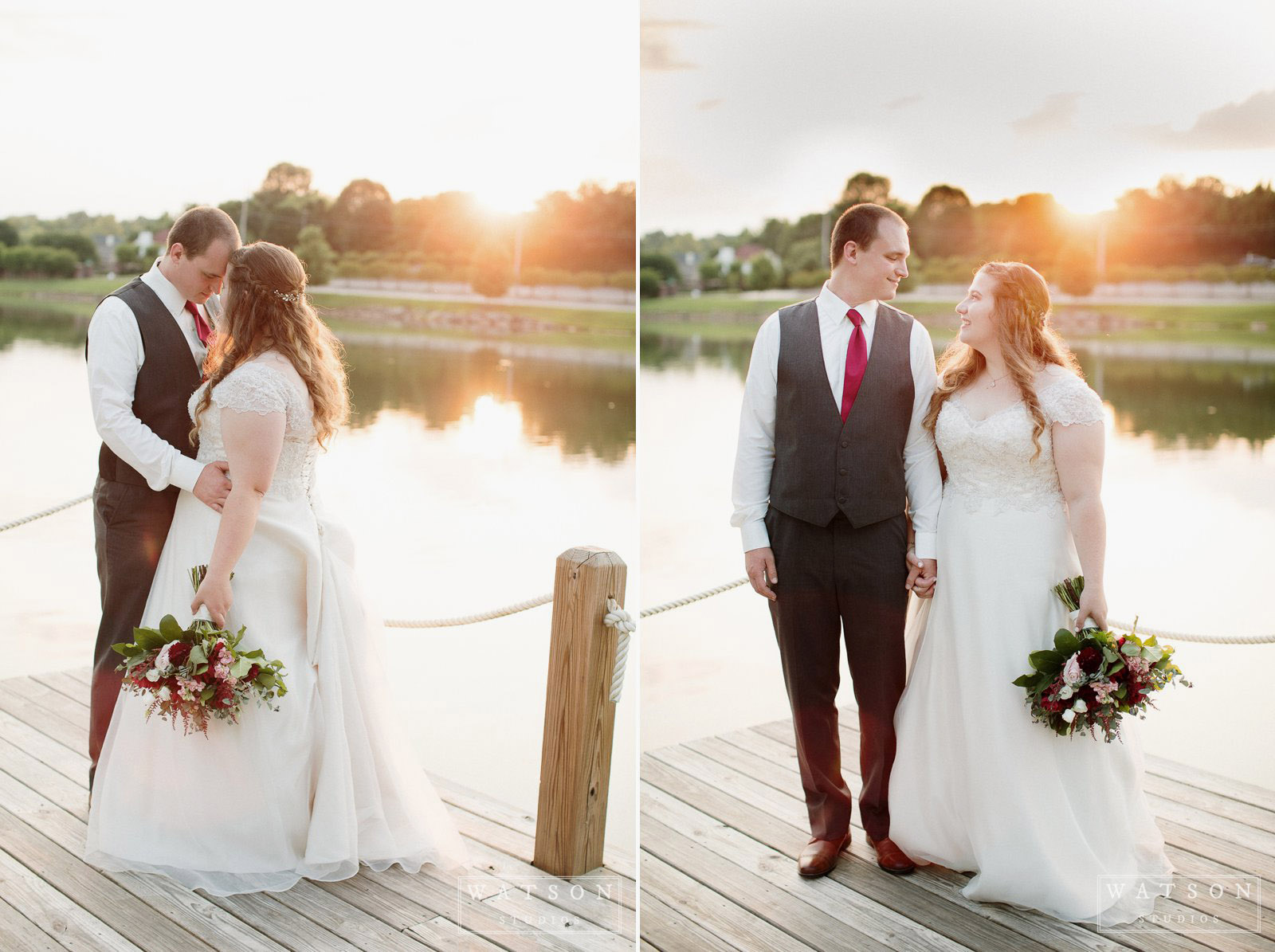 Hunter Valley Farm sunset wedding photos