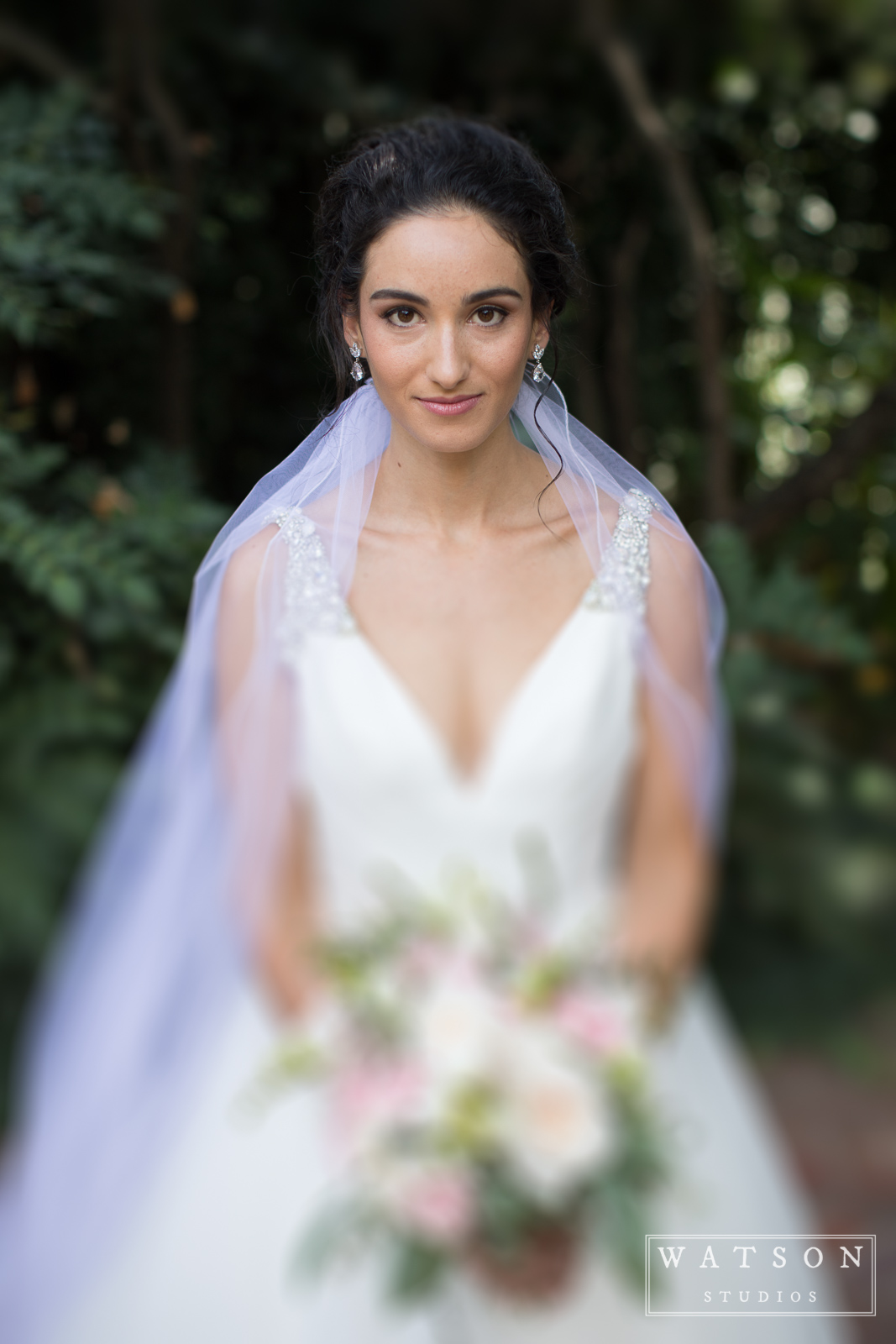 Bridal Portrait at East Ivy Mansion Wedding