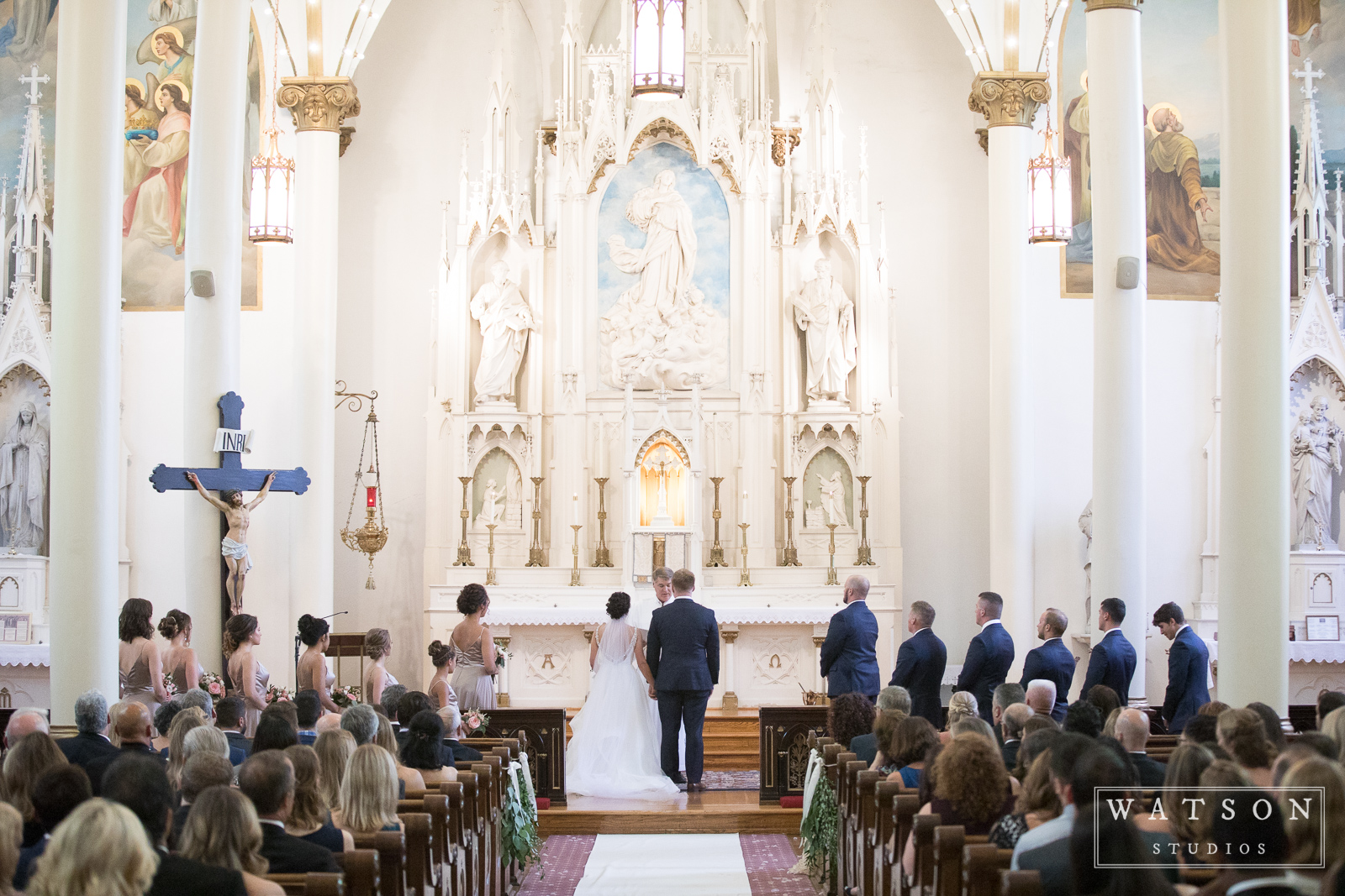 Wedding at Church of the Assumption