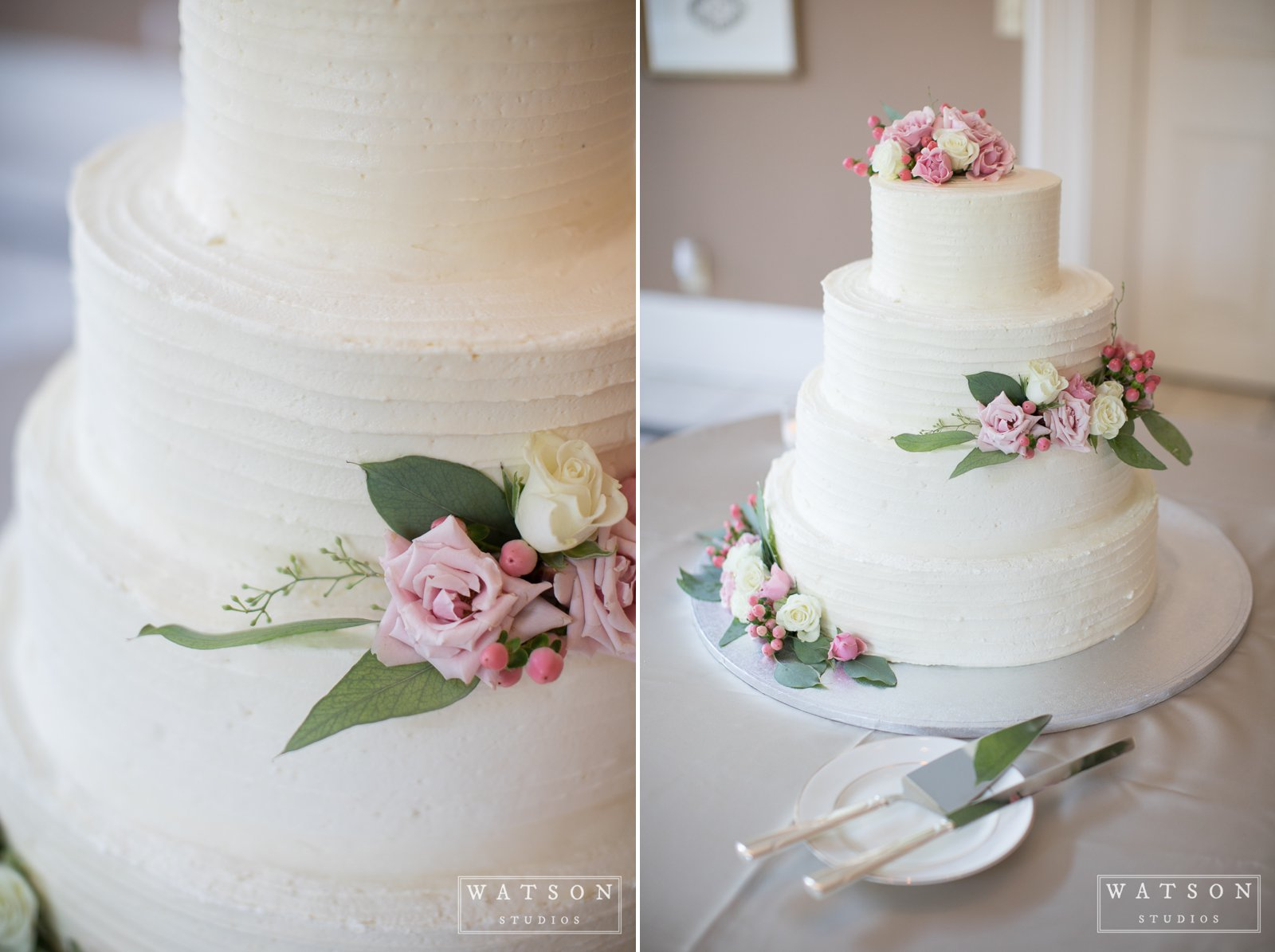 East Ivy Mansion Wedding Cake