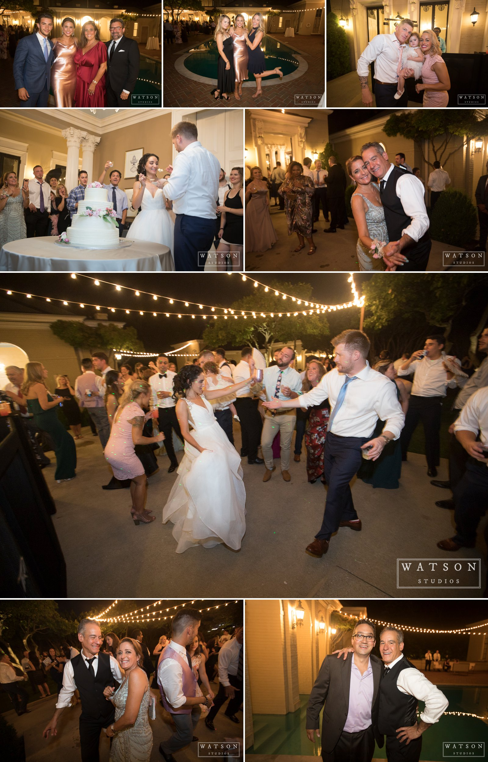 East Ivy Mansion Wedding Reception