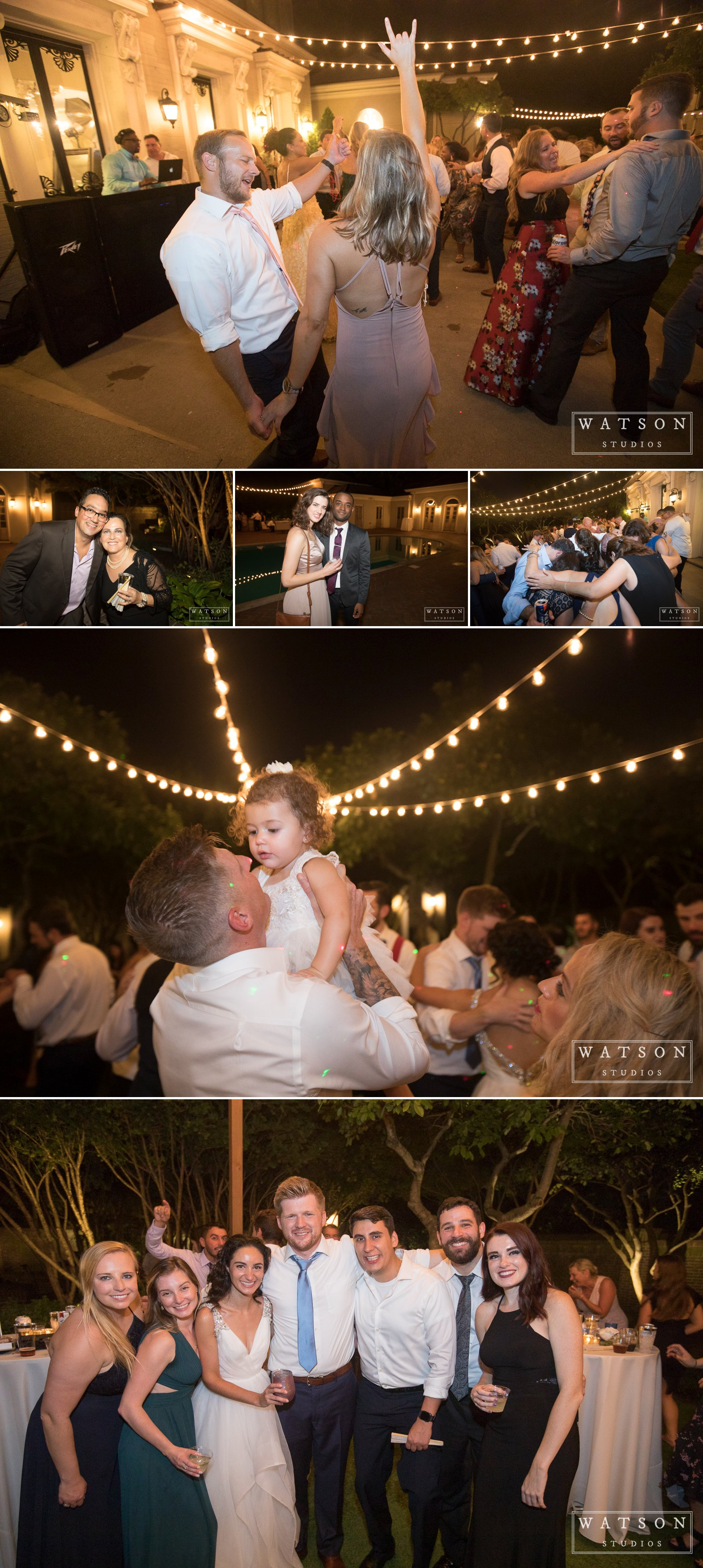 Reception at an East Ivy Mansion Wedding